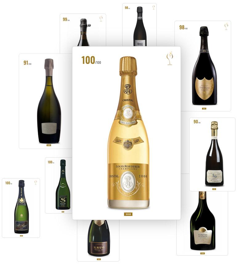 Bottiglie di Champagne Guida Grandi Champagne
